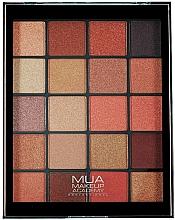 Düfte, Parfümerie und Kosmetik Lidschattenpalette - MUA 20 Shade Eyeshadow Palette