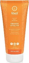 Düfte, Parfümerie und Kosmetik Energetisierendes und feuchtigkeitsspendendes Shampoo für mehr Sprungkraft und Leichtigkeit mit Orangenblütenöl - Khadi Shampoo Orange Vitality