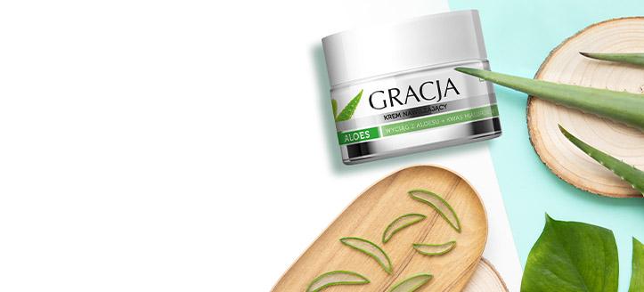 Freu dich über eine Feuchtigkeitscreme gratis zu deiner Bestellung von Gracja Produkten ab 8 €