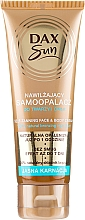 Düfte, Parfümerie und Kosmetik Autobronzante für helle Haut - DAX Sun Extra Bronze Self-Tanning Cream