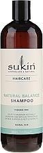Düfte, Parfümerie und Kosmetik Pflegende Haarspülung für normales Haar mit Extrakten aus Klette, Brennnessel und Baobab - Sukin Natural Balance Shampoo