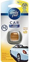 Düfte, Parfümerie und Kosmetik Auto-Lufterfrischer Anti-Tabak - Ambi Pur