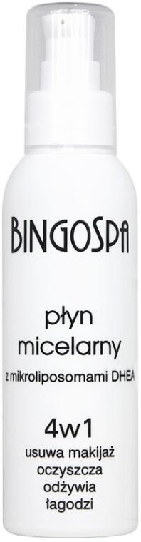 Mizellenwasser zum Abschminken mit Mikroliposomen - BingoSpa Micellar Make-Up RemoverBingoSpa — Bild N1