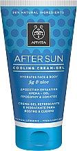 Düfte, Parfümerie und Kosmetik Kühlendes After Sun Greme-Gel für Gesicht und Körper mit Feige und Aloe - Apivita Sunbody After Sun Cooling Cream-Gel