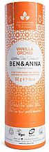 Düfte, Parfümerie und Kosmetik Natürlicher Soda Deo-Stick Vanilla Orchid - Ben & Anna Natural Soda Deodorant Paper Tube Vanilla Orchid