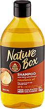 Düfte, Parfümerie und Kosmetik Pflegendes feuchtigkeitsspendendes und glättendes Shampoo mit Macadamiaöl - Nature Box Macadamia Oil