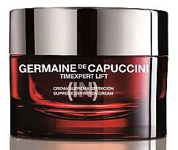 Düfte, Parfümerie und Kosmetik Straffende Gesichtscreme mit Lifting-Effekt - Germaine de Capuccini TimExpert Lift (In) Suprime Definition Cream