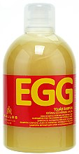 Düfte, Parfümerie und Kosmetik Ei-Shampoo für trockenes und normales Haar - Kallos Cosmetics Egg Shampoo