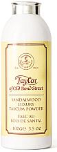 Düfte, Parfümerie und Kosmetik Taylor of Old Bond Street Sandalwood Luxury Talcum Powder - Talkpuder