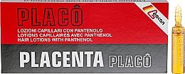 Düfte, Parfümerie und Kosmetik Regenerierende, nährende und stärkende Haarlotion mit Plazenta und Panthenol in Ampullen - Black Professional Line Placenta Pantovit Hair Ampoules
