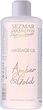 Düfte, Parfümerie und Kosmetik Massageöl Bernstein und Gold - Sezmar Collection Professional Massage Oil Amber & Gold