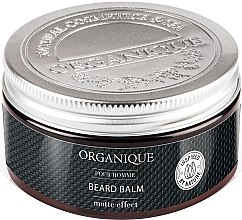 Düfte, Parfümerie und Kosmetik Bartbalsam mit Matteffekt - Organique Pour Homme Beard Balm Matte Effect