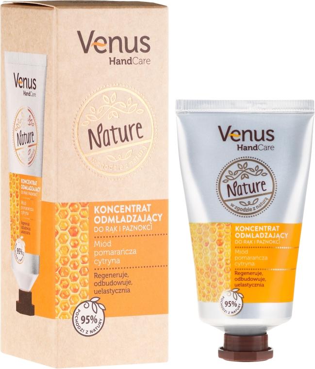 Verjüngendes Hand- und Nagelkonzentrat - Venus Nature