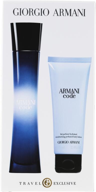 Giorgio Giorgio Armani Armani Code - Duftset (Eau de Parfum 75ml + Körperlotion 75ml) — Bild N1