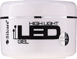 Düfte, Parfümerie und Kosmetik LED Aufbaugel Pink - Silcare High Light LED Pink