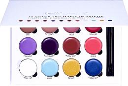 Düfte, Parfümerie und Kosmetik Lippenstift-Palette mit 12 Farben - Bellapierre 12 Color Pro Matte Lip Palette