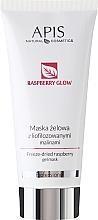 Düfte, Parfümerie und Kosmetik Gesichtsmaske mit gefriergetrockneter Himbeere - Apis Professional Raspberry Glow Freeze-Dried Rasberry Gel Mask