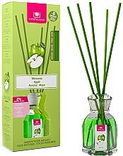 Düfte, Parfümerie und Kosmetik Aroma-Diffusor mit Duftstäbchen Apfel - Cristalinas Reed Diffuser