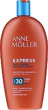 Düfte, Parfümerie und Kosmetik Wasserfeste Sonnenschutzcreme für den Körper SPF 30 - Anne Moller Express SPF30
