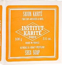 Düfte, Parfümerie und Kosmetik Körperseife mit Mandel, Honig und Scheabutter - Institut Karite Almond and Honey Shea Soap