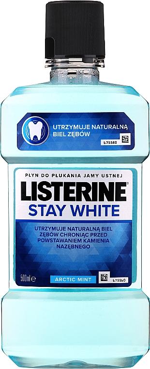 Mundspülung Weiße Zähne - Listerine Stay White