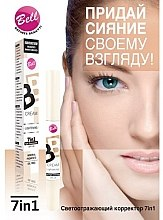 Strahlender Gesicht Concealer - Bell BB Cream Lightening 7in1 Eye Concealer — Bild N2