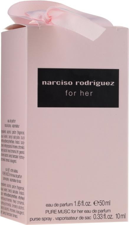 Narciso Rodriguez for Her - Duftset (Eau de Parfum 50ml + Eau de Parfum 10ml) — Bild N1