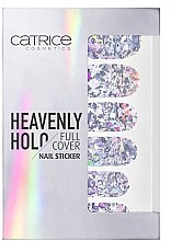 Düfte, Parfümerie und Kosmetik Dekorative Nagelsticker - Catrice Heavenly Holo Full Cover Nail Sticker