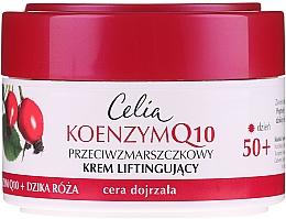 Düfte, Parfümerie und Kosmetik Anti-Falten Lifting-Tagescreme mit Coenzym Q10 und wilder Rose 50+ - Celia Coenzyme Q10 Wild Rose 50+ Anti-Wrinkle Lifting Day Cream