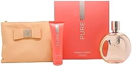 Düfte, Parfümerie und Kosmetik Roberto Verino Pure for Her - Duftset (Eau de Toilette/120ml + Körperlotion/50ml + Kosmetiktasche)