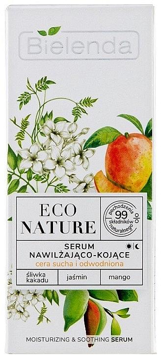 Feuchtigkeitsspendendes Gesichtsserum mit Pflaume, Jasmin und Mango - Bielenda Eco Nature Kakadu Plum, Jasmine and Mango