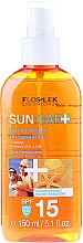 Düfte, Parfümerie und Kosmetik Sonnenschutzöl LSF 15 - Floslek Sun Care Dry Oil Tanning Spray SPF15