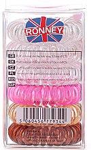 Haargummis Farb-Mix 6 St. №9 - Ronney Professional Funny Ring Bubble 9 — Bild N2