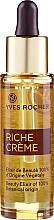 Düfte, Parfümerie und Kosmetik 100% Natürliches nährendes und glättendes Gesichtselixier mit kostbaren Ölen für strahlende Haut - Yves Rocher Riche Creme Beauty Elixir Of 100% Botanical Origin