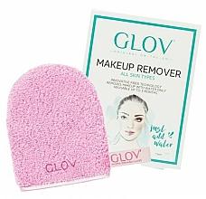 Düfte, Parfümerie und Kosmetik Handschuh zum Entfernen von Make-up rosa - Glov On-The-Go Makeup Remover Rose
