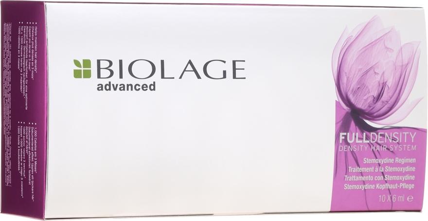 Stemoxydine Kopfhaut-Pflege in Ampullen - Biolage Full Density Thickening Hair System