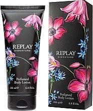 Düfte, Parfümerie und Kosmetik Replay Signature For Woman Replay - Körperlotion