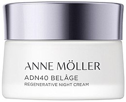 Düfte, Parfümerie und Kosmetik Regenerierende Nachtcreme - Anne Moller ADN40 Belage Regenerative Night Cream