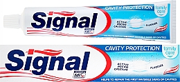 Düfte, Parfümerie und Kosmetik Zahnpasta Cavity Protection - Signal Family Cavity Protection Toothpaste