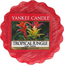 Düfte, Parfümerie und Kosmetik Duftendes Wachs - Yankee Candle Tropical Jungle Tart Wax Melt