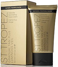 Düfte, Parfümerie und Kosmetik Gesichtscreme mit lichtreflektierenden Partikeln - St. Tropez Gradual Tan Plus Luminous Veil