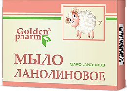 Düfte, Parfümerie und Kosmetik Lanolinseife - Golden Pharm
