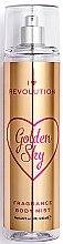 Düfte, Parfümerie und Kosmetik Parfümiertes Körperspray Golden Sky - Makeup Revolution Body Mist Golden Sky