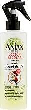 Düfte, Parfümerie und Kosmetik Haarspülung für Kinder mit Teebaumöl - Anian School Lotion With Tea Tree Oil