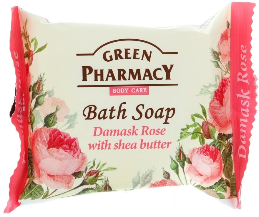 """Seife """"Damaszener Rose mit Sheabutter"""" - Green Pharmacy"""