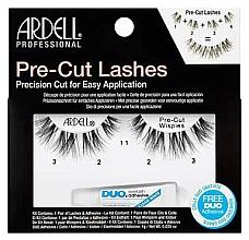 Düfte, Parfümerie und Kosmetik Künstliche Wimpern - Ardell Pre-Cut Demi Wipies Lashes