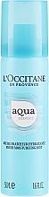Düfte, Parfümerie und Kosmetik Intensiv feuchtigkeitsspendendes Gesichtsspray mit Quellenwasser und Hyaluronsäure - L'Occitane Aqua Reotier Fresh Moisturizing Mist