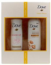 Düfte, Parfümerie und Kosmetik Duftset - Dove Elegant Beauty (Deodorant 150 ml + Duschschaum 200 ml)