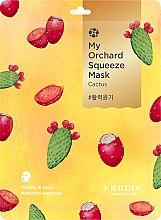 Düfte, Parfümerie und Kosmetik Vitalisierende Gesichtsmaske mit Kaktus - Fruida My Orchard Squeeze Mask Cactus
