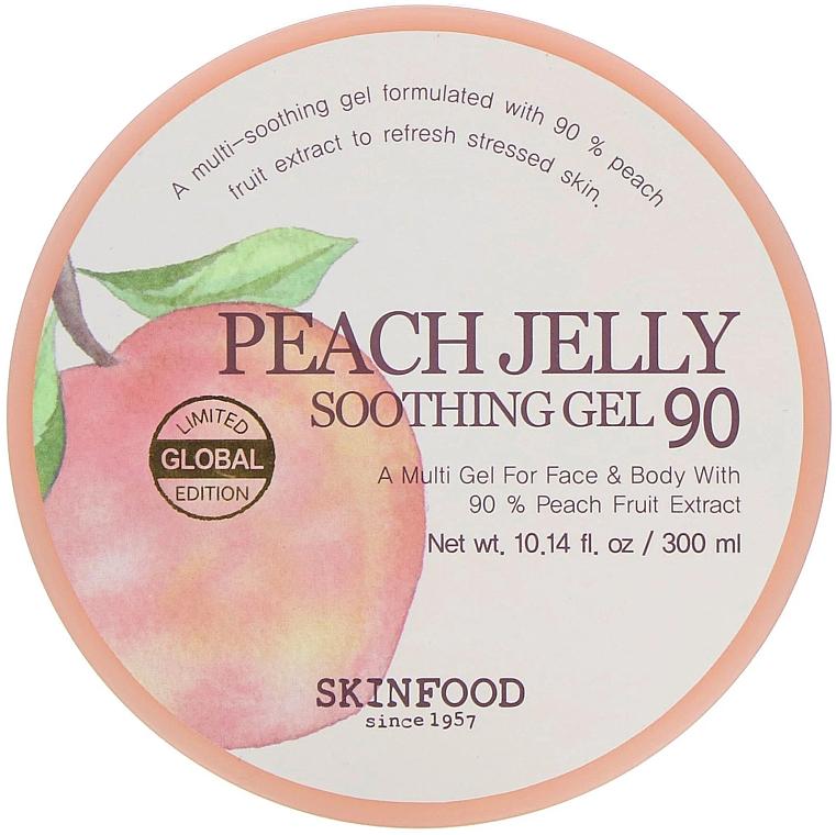 Beruhigendes Körpergel mit Pfirsichextrakt - Skinfood Peach Jelly Soothing Gel